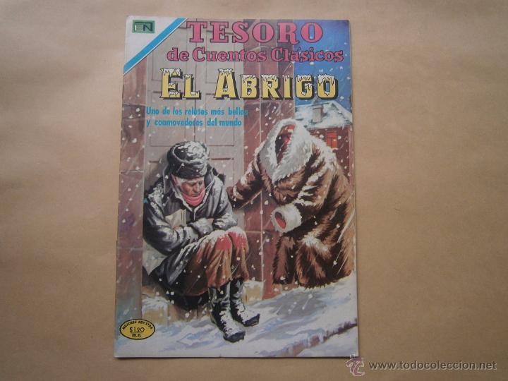 El abrigo - Tesoro de cuentos clásicos n° 149 - original editorial Novaro - Envío gratis Excelente! segunda mano