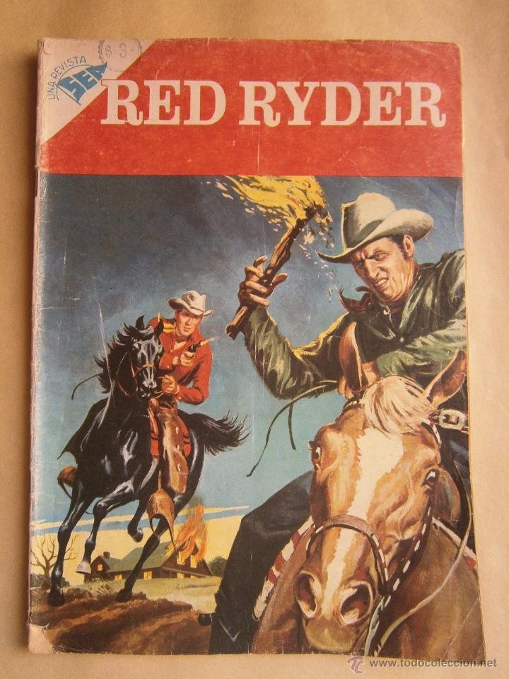 RED RYDER N° 35 - ORIGINAL EDITORIAL NOVARO (Tebeos y Comics - Novaro - Red Ryder)