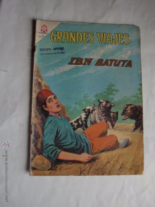 GRANDES VIAJES Nº 28 ORIGINAL NAVARO (Tebeos y Comics - Novaro - Grandes Viajes)