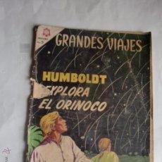 Tebeos: GRANDES VIAJES Nº 23 ORIGINAL NAVARO. Lote 49095311
