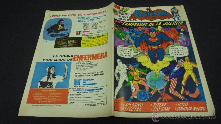 BATMAN. Nº 726. EDITORIAL NOVARO. (Tebeos y Comics - Novaro - Batman)