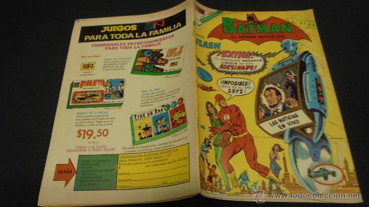 BATMAN. Nº 644. EDITORIAL NOVARO. (Tebeos y Comics - Novaro - Batman)