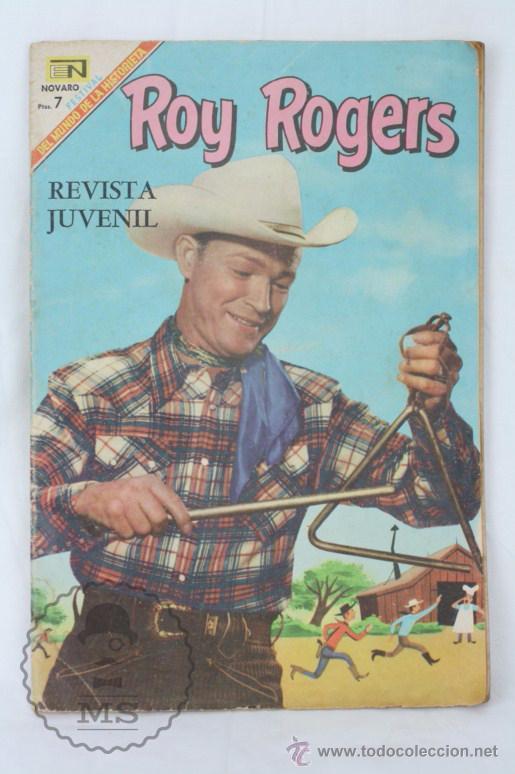 CÓMIC ROY ROGERS. UNA DESAPARICIÓN MISTERIOSA. Nº 198 - ED. NOVARO - MEDIDAS 25,5 X 17 CM (Tebeos y Comics - Novaro - Roy Roger)