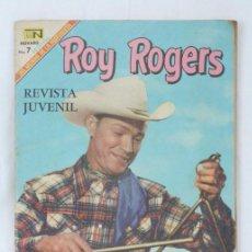 Tebeos: CÓMIC ROY ROGERS. UNA DESAPARICIÓN MISTERIOSA. Nº 198 - ED. NOVARO - MEDIDAS 25,5 X 17 CM. Lote 49190019