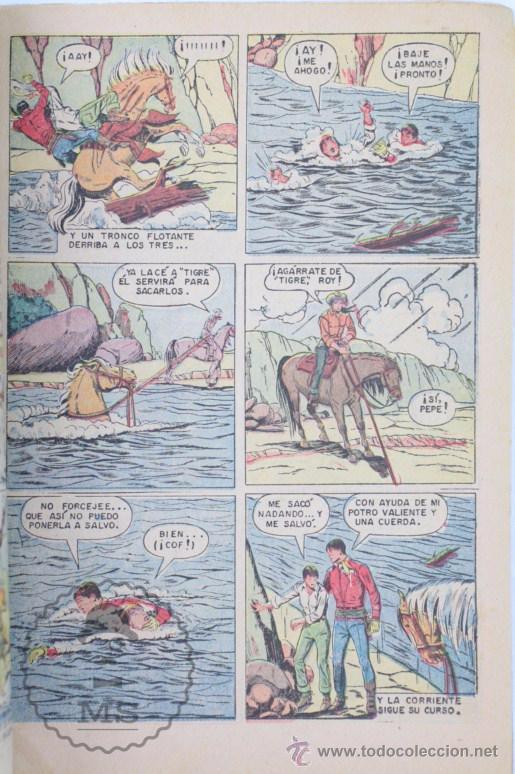 Tebeos: Cómic Roy Rogers. Una Desaparición Misteriosa. Nº 198 - Ed. Novaro - Medidas 25,5 x 17 Cm - Foto 3 - 49190019