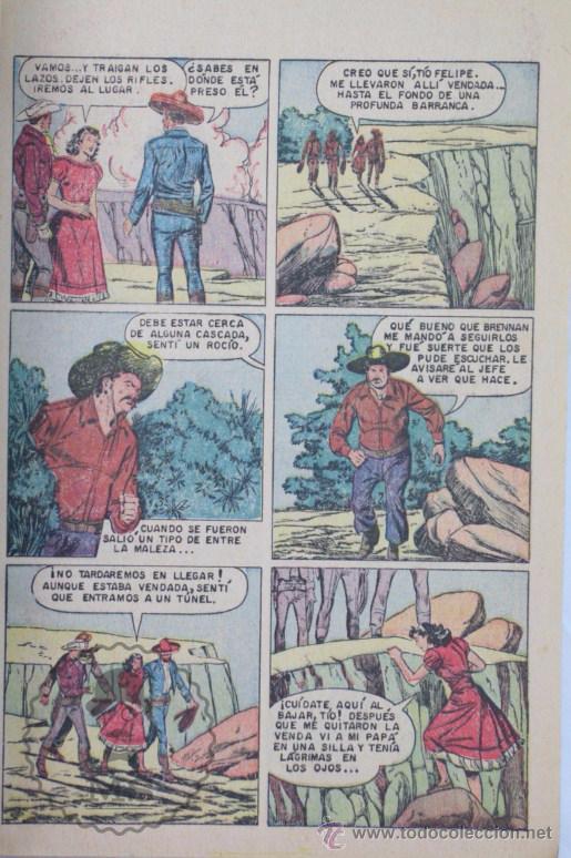 Tebeos: Cómic Roy Rogers. Una Desaparición Misteriosa. Nº 198 - Ed. Novaro - Medidas 25,5 x 17 Cm - Foto 5 - 49190019