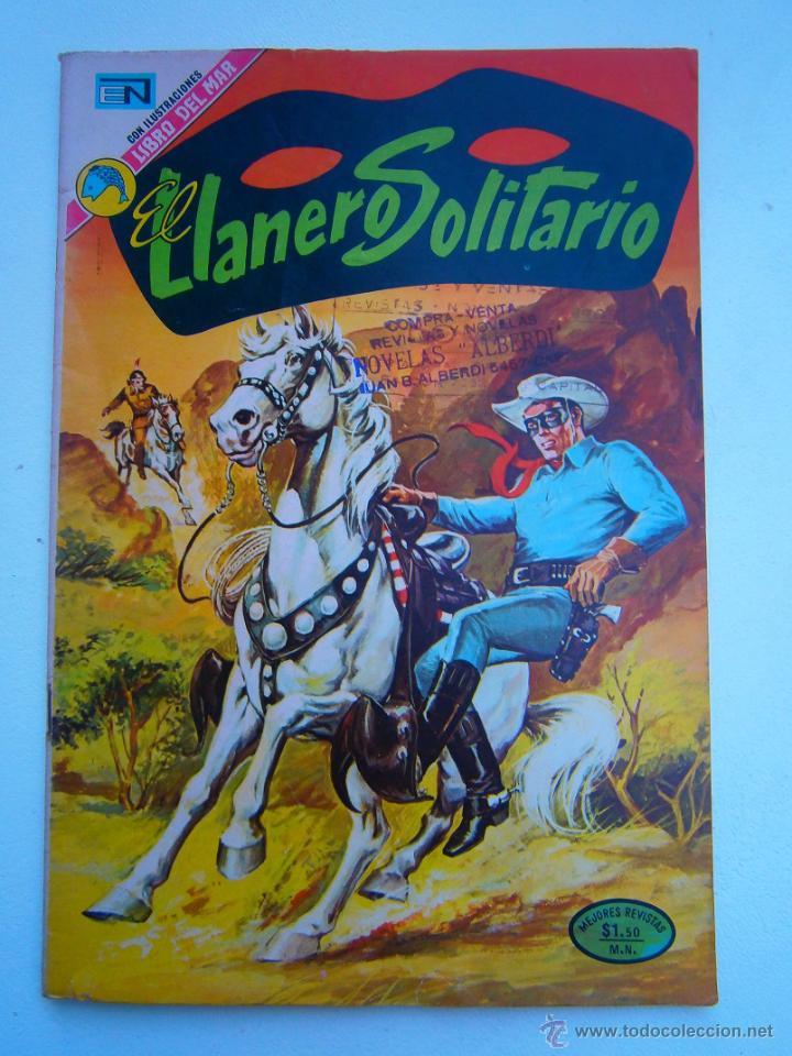 EL LLANERO SOLITARIO #291 - ORIGINAL EDITORIAL NOVARO (Tebeos y Comics - Novaro - El Llanero Solitario)