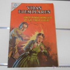 Tebeos: VIDAS EJEMPLARES Nº 224. SANTA MARIA DE LAS CINCO LLAGAS. Lote 49257329