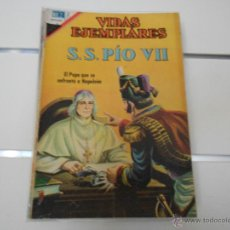 Tebeos: VIDAS EJEMPLARES Nº 259. S. S. PIO VII. Lote 49260411