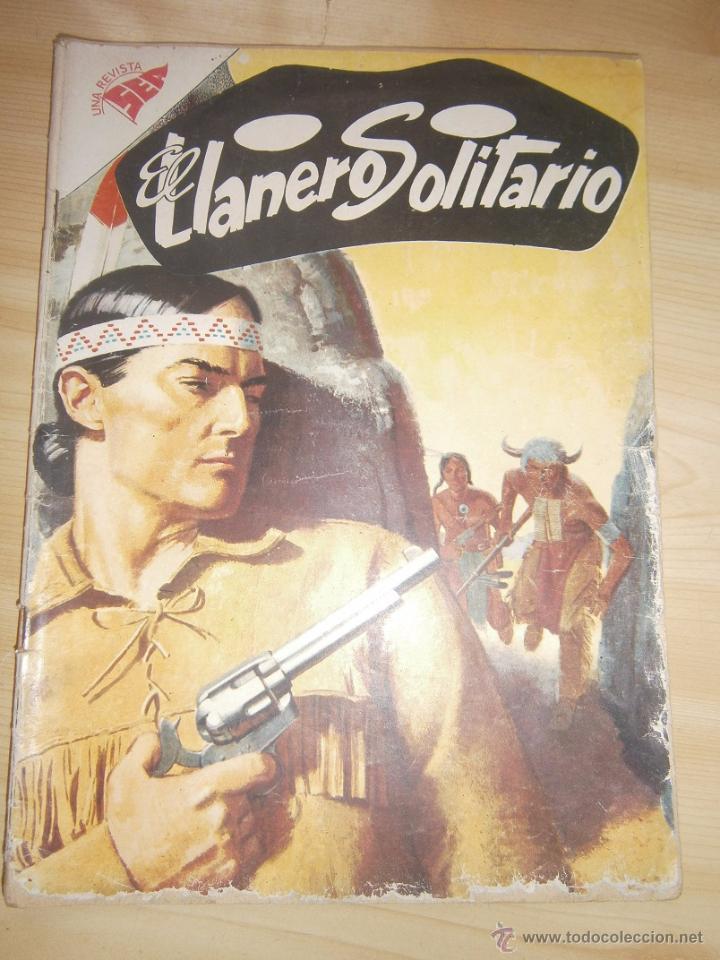 EL LLANERO SOLITARIO #60 - ORIGINAL EDITORIAL NOVARO (Tebeos y Comics - Novaro - El Llanero Solitario)