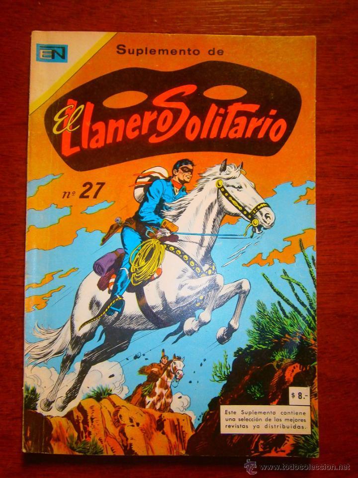 EL LLANERO SOLITARIO SUPLEMENTO N° 27 - ORIGINAL EDITORIAL NOVARO (Tebeos y Comics - Novaro - El Llanero Solitario)