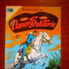 Tebeos: EL LLANERO SOLITARIO SUPLEMENTO N° 27 - ORIGINAL EDITORIAL NOVARO. Lote 80802474