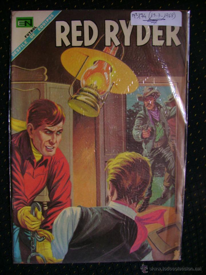 RED RYDER N° 174 - ORIGINAL EDITORIAL NOVARO (Tebeos y Comics - Novaro - Red Ryder)