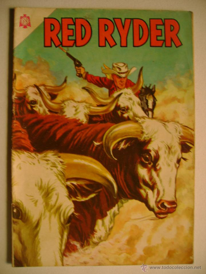 RED RYDER N° 127 - ORIGINAL EDITORIAL NOVARO (Tebeos y Comics - Novaro - Red Ryder)