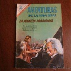 Tebeos: AVENTURAS DE LA VIDA REAL N° 131 - LA PIANISTA PRODIGIOSA! - ORIGINAL EDITORIAL NOVARO. Lote 49392831
