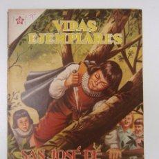 Tebeos: SAN JOSÉ DE CALASANZ! - VIDAS EJEMPLARES N° 74 - ORIGINAL EDITORIAL NOVARO. Lote 49418569
