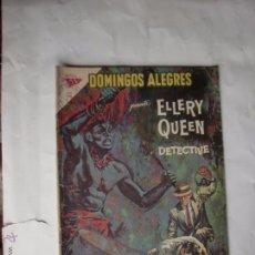 Tebeos: DOMINGOS ALEGRES ELLERY QUEEN DETECTIVE Nº 474 1963 ORIGINAL. Lote 49500985
