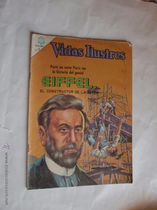 VIDAS ILUSTRES Nº 141 1966 NAVARO ORIGINAL (Tebeos y Comics - Novaro - Vidas ilustres)