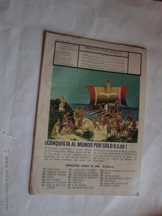Tebeos: VIDAS ILUSTRES Nº 141 1966 NAVARO ORIGINAL - Foto 2 - 49635133