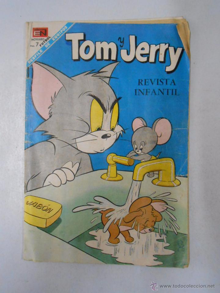 TOM Y JERRY Nº 256. REVISTA INFANTIL. EDITORIAL NOVARO. TDKC8 (Tebeos y Comics - Novaro - Tom y Jerry)