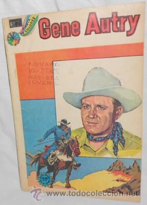 GENE AUTRY Nº 293, NOVARO, 1973 (Tebeos y Comics - Novaro - Roy Roger)