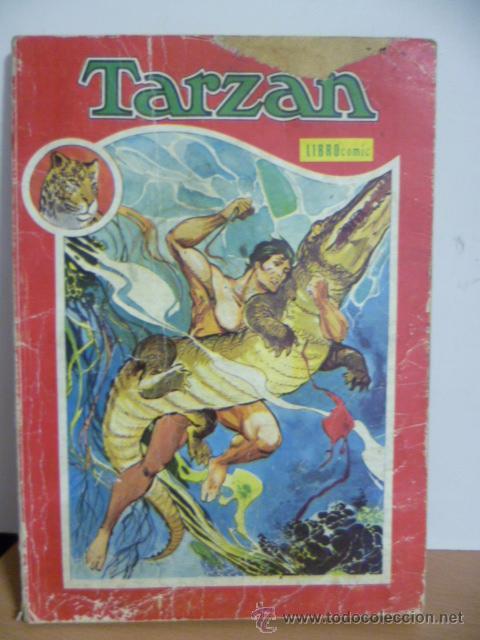 TARZÁN. LIBRO COMIC. TOMO XIII. (1975) (Tebeos y Comics - Novaro - Tarzán)