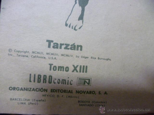 Tebeos: TARZÁN. LIBRO COMIC. TOMO XIII. (1975) - Foto 3 - 49706995