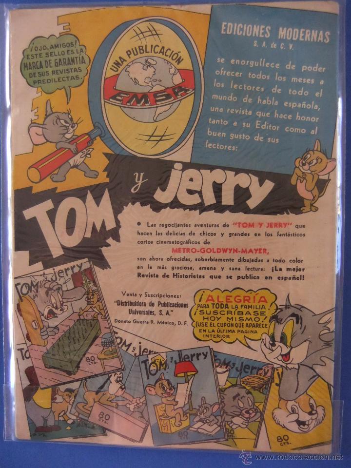 Tebeos: TOM Y JERRY Nº 2 EMSA (NOVARO) OCTUBRE DE 1951 IMPECABLE - Foto 2 - 49716450