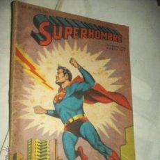 Tebeos: SUPERHOMBRE LIBRO DE VACACIONES1954/55 98 PAG. TOMY FUTURO, BATMAN Y OTROS HEROES TYP. NOVARO. Lote 49845041