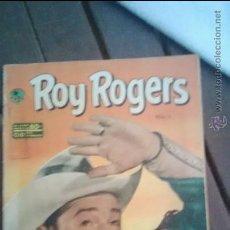 Tebeos: ROY ROGERS EMSA (NOVARO) NUMERO 2 AÑO 1952. MUY DIFICIL. Lote 49867243