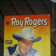 Tebeos: ROY ROGERS EMSA (NOVARO) NUMERO 3 AÑO 1952. MUY DIFICIL CASI IMPECABLE. Lote 49867275