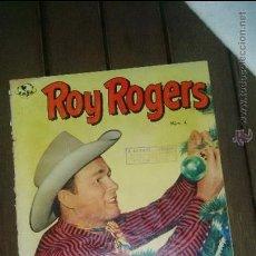 Tebeos: ROY ROGERS EMSA (NOVARO) NUMERO 4 AÑO 1952. MUY DIFICIL . Lote 49867315