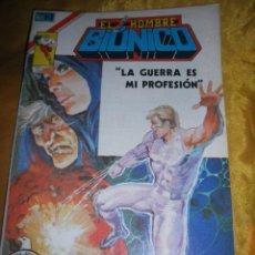 Tebeos: EL HOMBRE BIONICO : LA GUERRA ES MI PROFESION . SERIE AGUILA, Nº 7. 1979. EDITORIAL NOVARO *. Lote 49910348