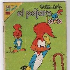 Tebeos: EL PAJARO LOCO # 2-602 NOVARO AGUILA 1980 WALTER LANTZ ANDY PANDA HOMERO BUEN ESTADO. Lote 50265687