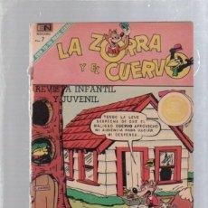 Tebeos: LA ZORRA Y EL CUERVO. REVISTA INFANTIL. AÑO XXI. Nº 262. FEBRERO 1971. Lote 50314864