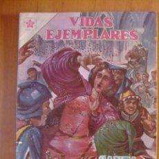 Tebeos: VIDAS EJEMPLARES Nº 149 SANTA CATALINA DE SENA EDITORIAL NOVARO. Lote 50383910