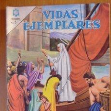 Tebeos: VIDAS EJEMPLARES Nº 181 SANTA GENOVEVA PATRONA DE PARIS EDITORIAL NOVARO. Lote 50384004