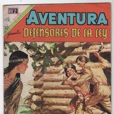 Tebeos: AVENTURA # 592 DANIEL BOONE NOVARO 1969 DEFENSORES DE LA LEY EXCELENTE. Lote 50449246