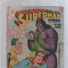 Tebeos: TEBEO SUPERMAN. AÑO VIII. Nº 219. DICIEMBRE 1959. TITANO MAS FANTASTICO QUE KING KONG. NOVARO. Lote 50619235