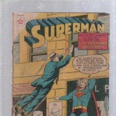 Tebeos: TEBEO SUPERMAN. AÑO VII. Nº 175. FEBRERO 1959. EL SEGUNDO SUPERMAN. NOVARO. Lote 50619279