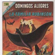 Tebeos: DOMINGOS ALEGRES # 723 LA FAMILIA ROBINSON PERDIDOS EN EL ESPACIO NOVARO 1968 EXCELENTE. Lote 50641796