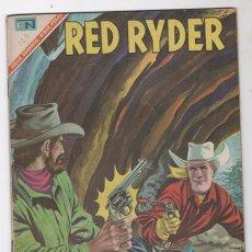 Tebeos: RED RYDER # 153 NOVARO 1967 LA CUEVA DEL VALLE ROCOSO BUEN ESTADO. Lote 50641843