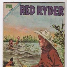Tebeos: RED RYDER # 187 NOVARO 1968 LA HIERBA DEL SUEÑO MUY BUEN ESTADO. Lote 50641854