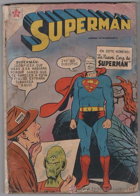 SUPERMAN # EXTRAORDINARIO 96 PAG NOVARO 1959 TOMAS MAÑANA AQUAMAN FLECHA VERDE CONGO BILL BUEN ESTAD (Tebeos y Comics - Novaro - Superman)
