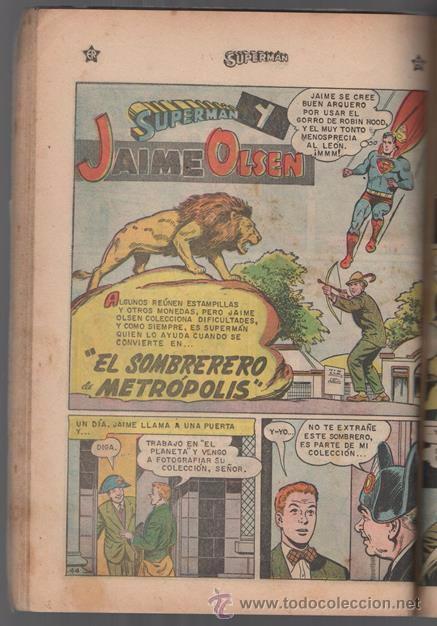 Tebeos: SUPERMAN # EXTRAORDINARIO 96 PAG NOVARO 1959 TOMAS MAÑANA AQUAMAN FLECHA VERDE CONGO BILL BUEN ESTAD - Foto 2 - 50665896
