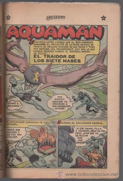 Tebeos: SUPERMAN # EXTRAORDINARIO 96 PAG NOVARO 1959 TOMAS MAÑANA AQUAMAN FLECHA VERDE CONGO BILL BUEN ESTAD - Foto 6 - 50665896
