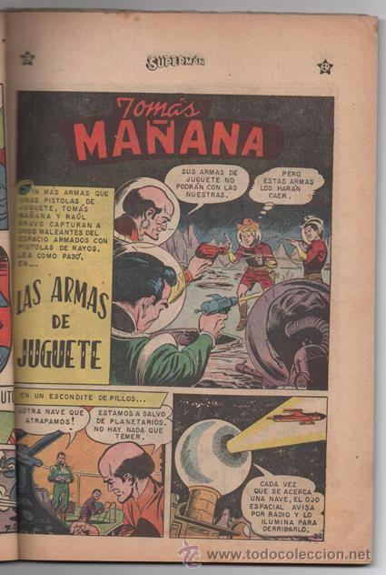 Tebeos: SUPERMAN # EXTRAORDINARIO 96 PAG NOVARO 1959 TOMAS MAÑANA AQUAMAN FLECHA VERDE CONGO BILL BUEN ESTAD - Foto 9 - 50665896