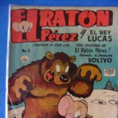 Tebeos: EL RATON PEREZ Y EL REY LUCAS Nº 6 LA PRENSA ( MEXICO ) SIMILAR A NOVARO JULIO DE 1952. Lote 50672338