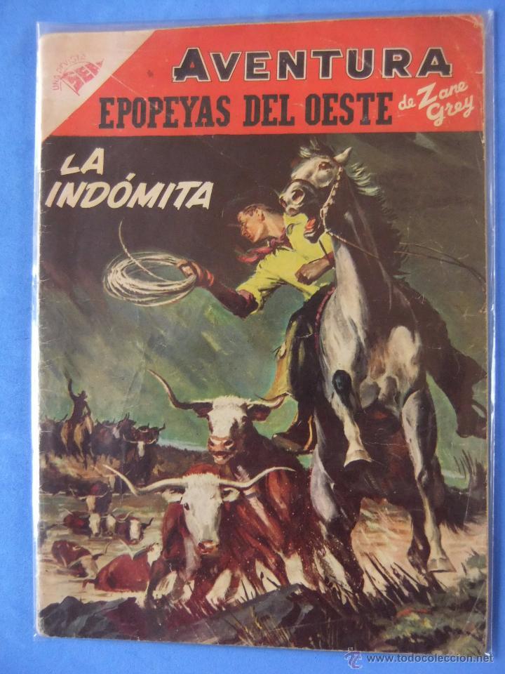 AVENTURA Nº 71 EPOPEYAS DEL OESTE SEA DESPUES NOVARO (Tebeos y Comics - Novaro - Aventura)