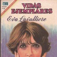 Tebeos: VIDAS EJEMPLARES Nº 251, EVA LAVALLIERE, DE 1967. Lote 50851244